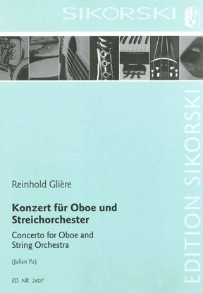 Product Cover for Concerto for Oboe and String Orchestra