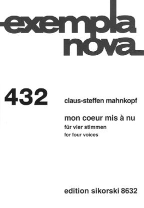Product Cover for Mon coeur mis à nu