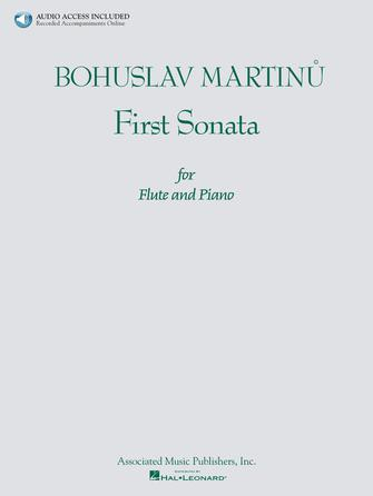 Product Cover for Bohuslav Martinu – First Sonata for Flute and Piano