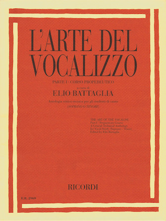Product Cover for The Art of the Vocalise – Part I