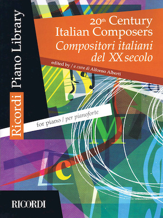Product Cover for 20th Century Italian Composers