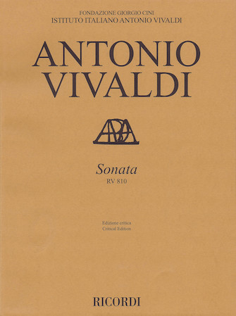 Product Cover for Sonata, RV 810