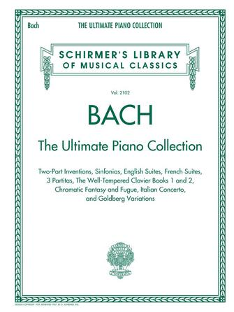 Product Cover for Bach: The Ultimate Piano Collection