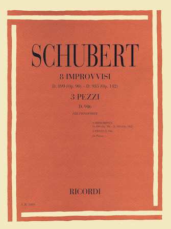 Product Cover for 8 Impromptus, D. 899 (Op. 90) and D. 935 (Op. 142), and 3 Pieces, D. 946
