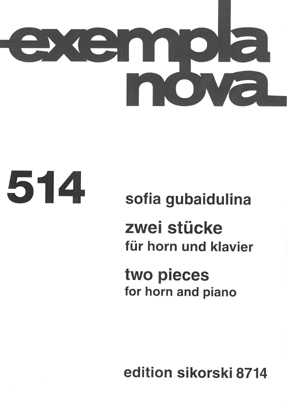 Product Cover for Sofia Gubaidulina – Two Pieces for Horn and Piano