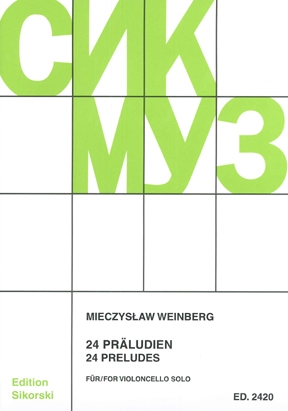 Product Cover for Mieczyslaw Weinberg – 24 Preludes
