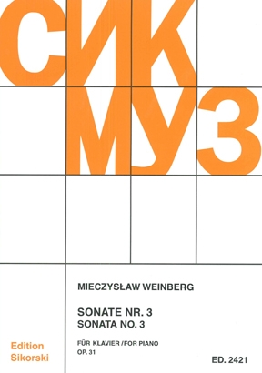 Product Cover for Sonata No. 3, Op. 31