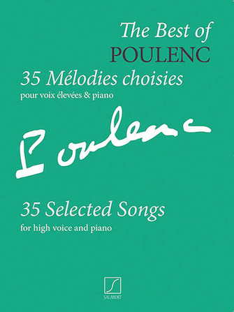 Product Cover for The Best of Poulenc – 35 Selected Songs