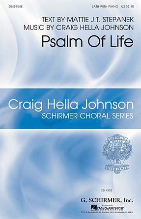 Product Cover for Psalm of Life