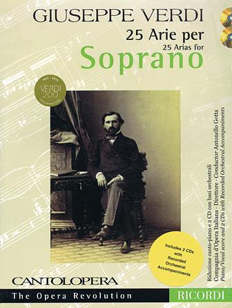 Product Cover for Verdi: 25 Arias for Soprano