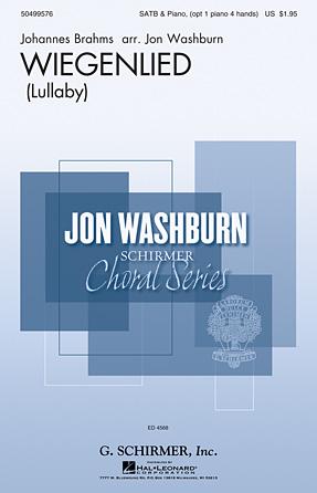 Wiegenlied : SSATB : Jon Washburn : Johannes Brahms : Sheet Music : 50499576 : 884088988012 : 1480371289