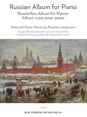 Product Cover for Russian Album for Piano
