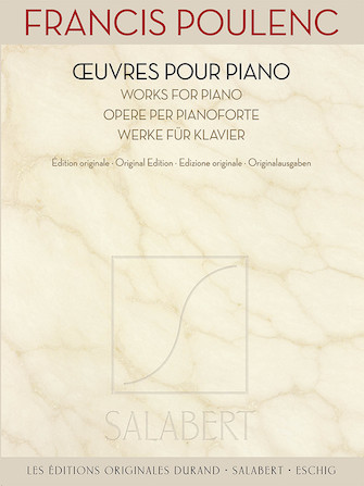 Product Cover for Francis Poulenc – Works for Piano