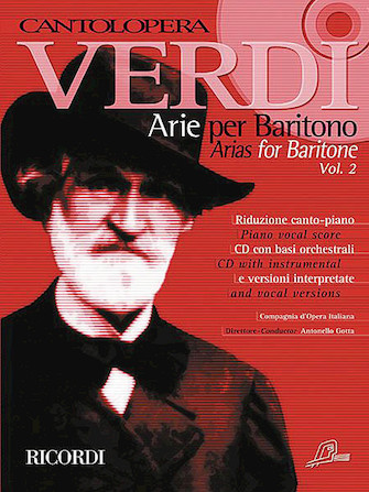 Product Cover for Verdi Arias for Baritone Volume 2