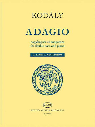 Product Cover for Adagio for Double Bass and Piano – New Edition