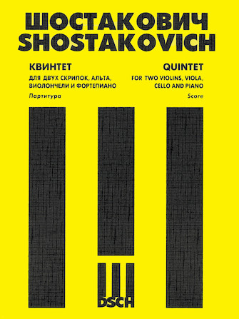 Product Cover for Piano Quintet, Op. 57 Score & Parts