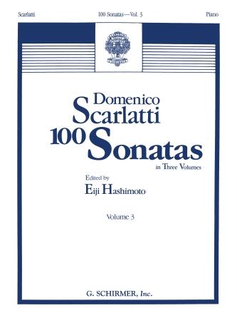 Product Cover for 100 Sonatas – Volume 3 (Sonata 68, K445 – Sonata 100, K551)