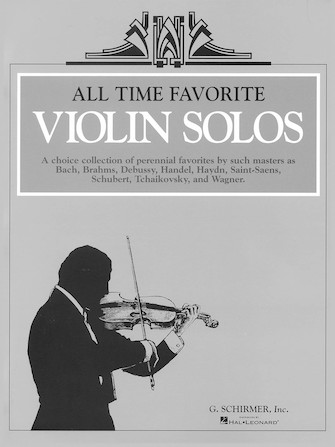Product Cover for All Time Favorite Violin Solos