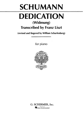 Product Cover for Dedication (Widmung)