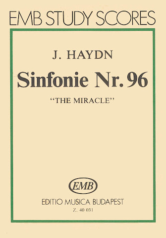 """Product Cover for Symphony No. 96 in D Major (""""The Miracle"""")"""