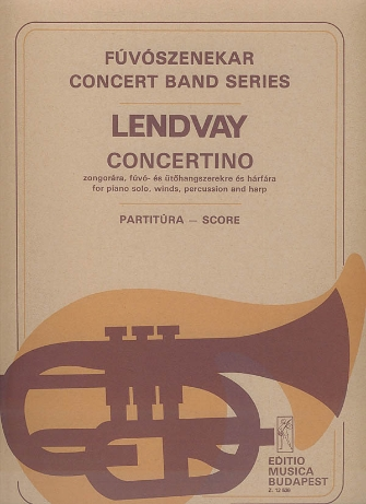 Product Cover for Concertino for Piano, Winds, Percussion and Harp
