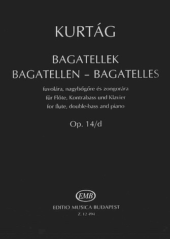 Product Cover for Bagatelles for Flute, Double Bass and Piano, Op. 14d