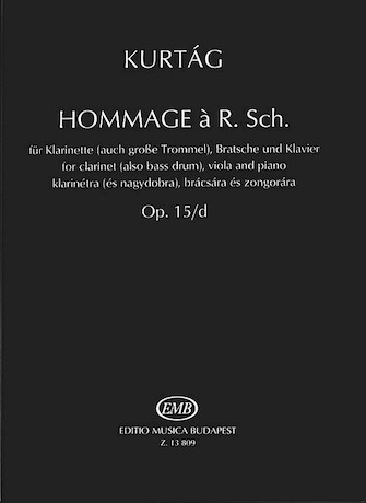 Product Cover for Hommage à R. Sch., Op. 15d