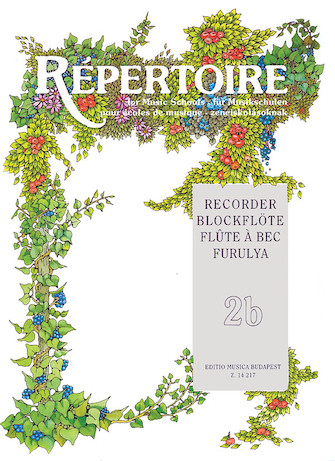 Product Cover for Repertoire for the Recorder – Volume 2B
