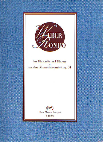 Product Cover for Rondo from the Clarinet Quintet, Op. 34