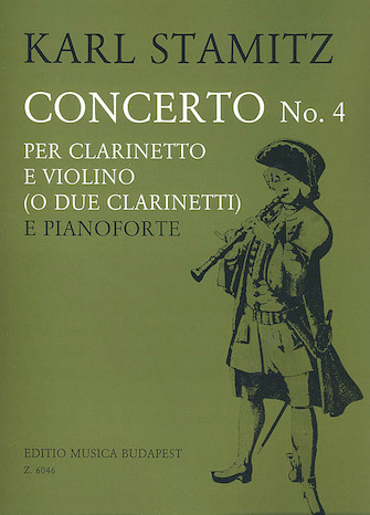 Product Cover for Concerto No. 4 for Clarinet and Violin (or 2 Clarinets)
