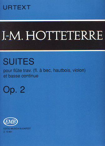 Product Cover for Suites for Flute (Recorder, Oboe, Violin) and Basse Continue, Op. 2