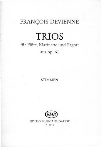 Product Cover for Trios for Flute, Clarinet, and Bassoon, Op. 61
