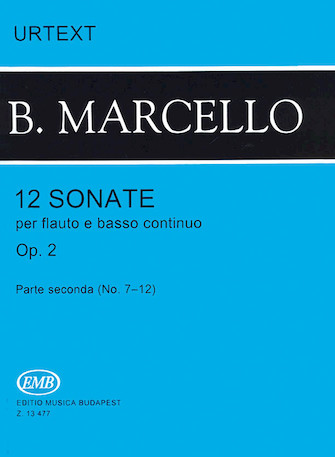 Product Cover for 12 Sonatas for Flute and Basso Continuo, Op. 2 – Volume 2
