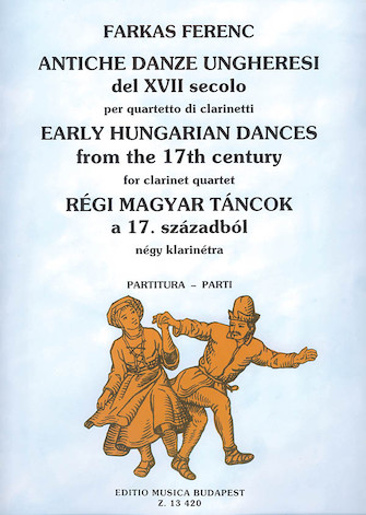 Product Cover for Early Hungarian Dances from the 17th Century for Four Clarinets