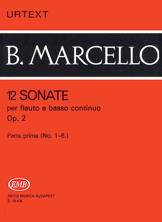 Product Cover for 12 Sonatas for Flute and Basso Continuo, Op. 2 – Volume 1