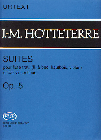 Product Cover for Suites for Flute (Recorder, Oboe, Violin) and Basse Continue, Op. 5
