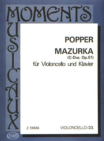 Product Cover for Mazurka in C, Op. 51
