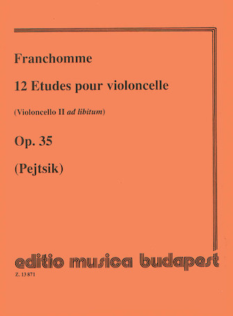 Product Cover for 12 Etudes, Op. 35 (Violoncello II ad lib.)