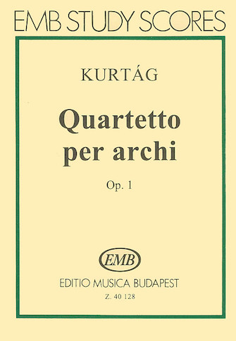 Product Cover for String Quartet, Op. 1