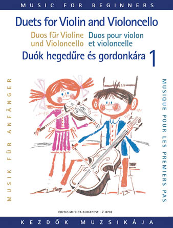 Product Cover for Duets for Violin and Violoncello for Beginners