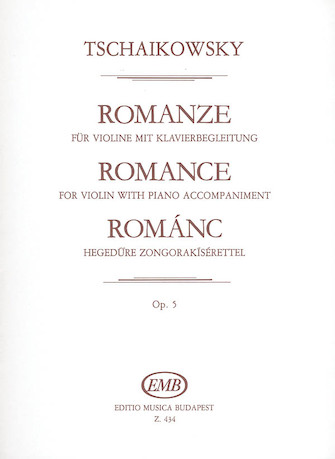 Product Cover for Romance, Op. 5