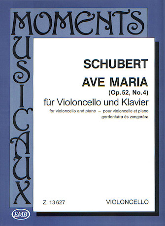 Product Cover for Ave Maria, Op. 52, No. 4