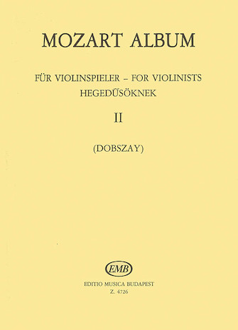 Product Cover for Album for Violin – Volume 2: Duos
