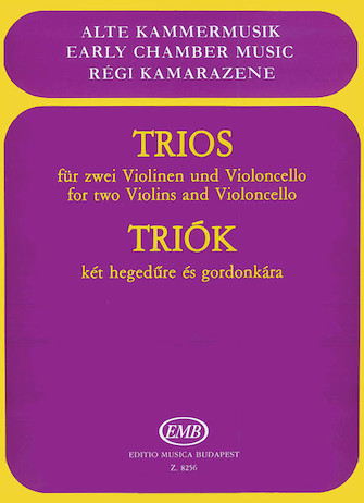 Product Cover for Trios for Two Violins and Violoncello