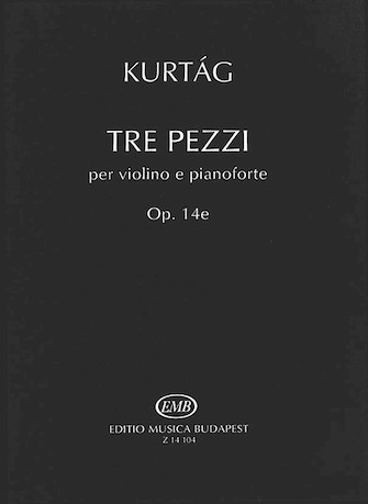 Product Cover for Three Pezzi, Op. 14e
