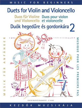 Product Cover for Duets for Violin and Violoncello for Beginners – Volume 2