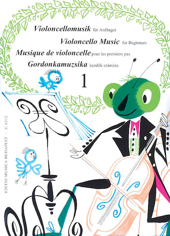 Product Cover for Violoncello Music for Beginners – Volume 1