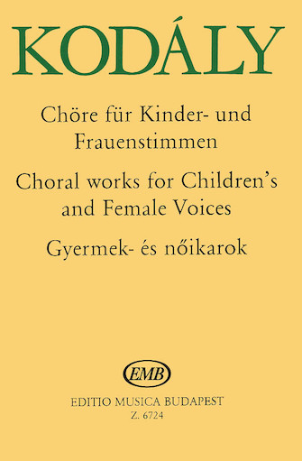 Product Cover for Choral Works-children/women