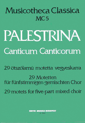 Product Cover for Canticum Canticorum
