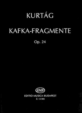 Product Cover for Kafka Fragments, Op. 24